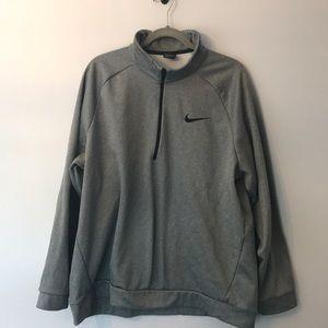 Nike 3/4 zip pull over